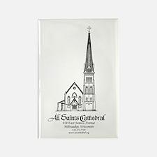 All Saints' Rectangle Magnet (100 pack)