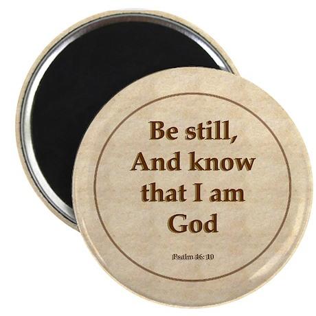 """Be Still"" Psalm Magnet"