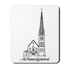 All Saints' Cathedral Mousepad