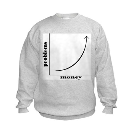 Mo Money Mo Problems Kids Sweatshirt