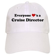 Loves a Cruise Director Baseball Cap