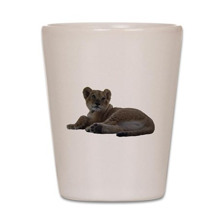 Baby Lion Shot Glass
