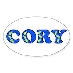 Cory Sticker (Oval)