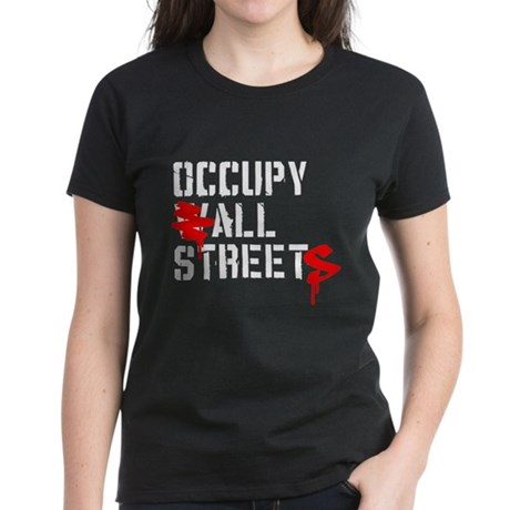 Occupy All Streets - Women's Dark T-Shirt