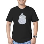 Apothecary Jar of Diamonds Men's Fitted T-Shirt (d