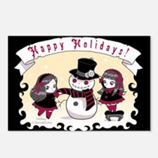 Xmas Postcards (Package of 8)