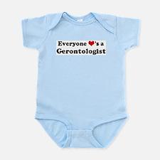 Loves a Gerontologist Infant Creeper