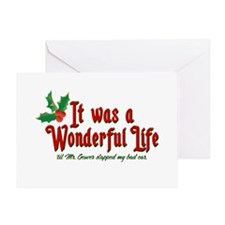 It Was a Wonderful Life Greeting Card