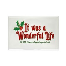 It Was a Wonderful Life Rectangle Magnet
