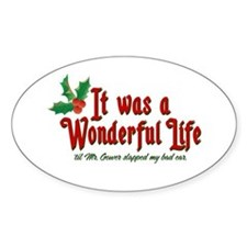 It Was a Wonderful Life Decal