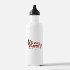 It Was a Wonderful Life Water Bottle