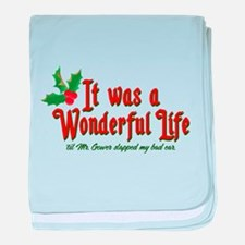 It Was a Wonderful Life baby blanket