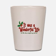 It Was a Wonderful Life Shot Glass