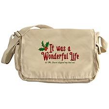 It Was a Wonderful Life Messenger Bag