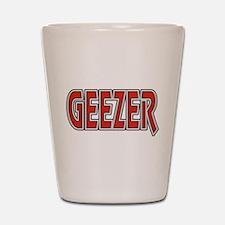 Geezer Shot Glass