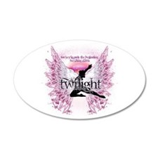 Twilight Crystal Angel by Twibaby 22x14 Oval Wall