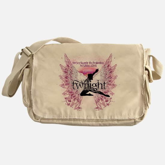 Twilight Crystal Angel by Twibaby Messenger Bag