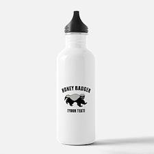 Honey Badger Custom Water Bottle