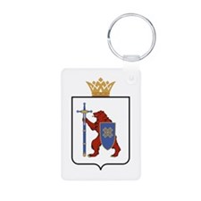 Mari El Republic Aluminum Photo Keychain