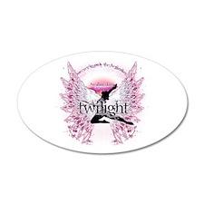 Twilight Crystal Angel by Twibaby 38.5 x 24.5 Oval