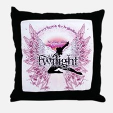 Twilight Crystal Angel by Twibaby Throw Pillow