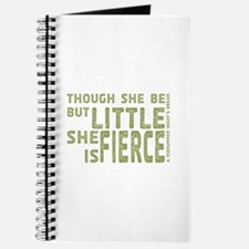 She is Fierce - Stamped Olive Journal