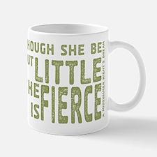 She is Fierce - Stamped Olive Mug