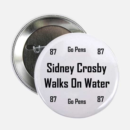 "Crosby Walks On Water 2.25"" Button"