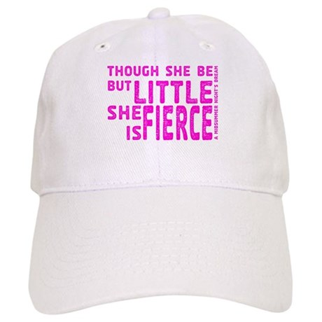 She is Fierce - Stamped Pink Cap