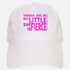She is Fierce - Stamped Pink Baseball Baseball Cap