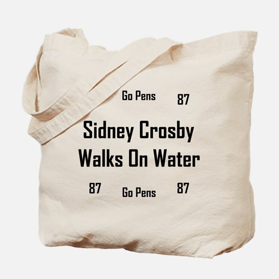 Crosby Walks On Water Tote Bag