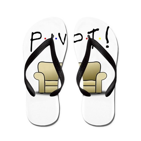 Friends Ross Pivot! Flip Flops