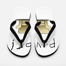 Friends Ross Pivot! Flip Flops