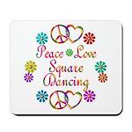 Love Square Dancing Mousepad