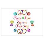 Love Square Dancing Large Poster