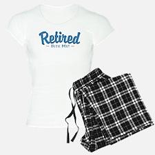 Funny Retired Bite Me Retirement Pajamas