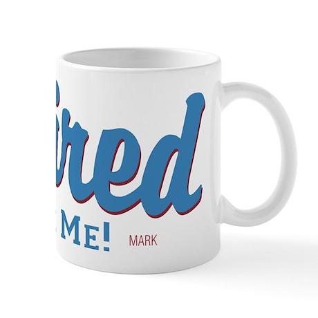 Funny Retired Bite Me Retirement Mug