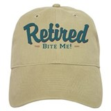 Funny retirement Hats & Caps