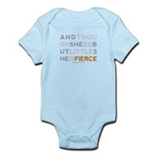 She is Fierce - Block Infant Bodysuit
