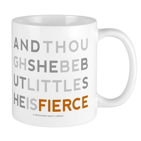 She is Fierce - Block Mug