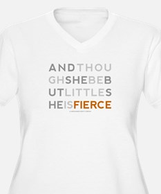 She is Fierce - Block T-Shirt