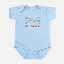 She is Fierce - Block Infant Bodysuit