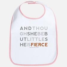 She is Fierce - Block Bib