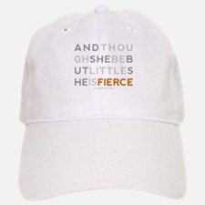 She is Fierce - Block Baseball Baseball Cap