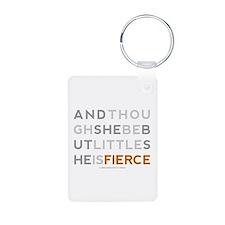 She is Fierce - Block Keychains
