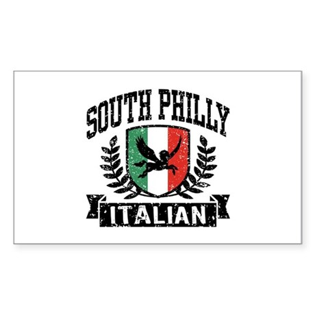 South Philly Italian Sticker (Rectangle)