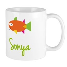 Sonya is a Big Fish Small Mugs