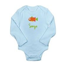 Sonya is a Big Fish Long Sleeve Infant Bodysuit