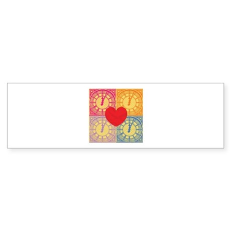 What time is love Sticker (Bumper)