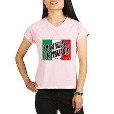 I'M NOT YELLING (Generic) Performance Dry T-Shirt